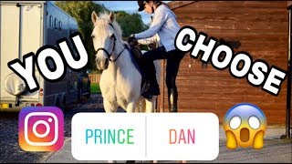 Instagram Followers Control my Riding Routine!
