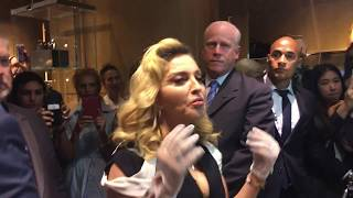 Meeting MADONNA at Barneys New York 2017 - MDNA Skin care launch