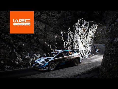 WRCラリーモンテカルロ2020 SS11-12ハイライト動画