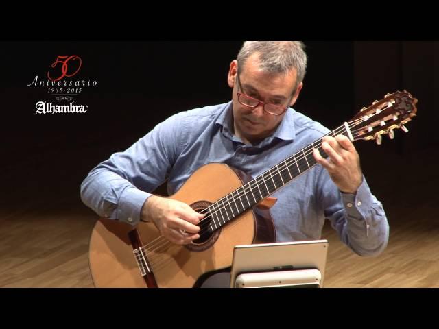 Preludio BWV 997 de J. S. Bach, Eduardo Baranzano, guitarra