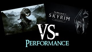 SKYRIM vs. SKYRIM Special Edition : Performance/FPS | 1080p@Ultra