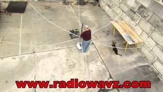 RadioWavz Sentinel Hex Beam Antenna  Set Up In 30 Min