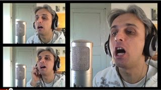 How to Sing a cover of You Won't See Me Beatles Vocal Harmony