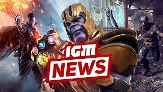 IGM News: Танос в Fortnite и новая игра от Bethesda