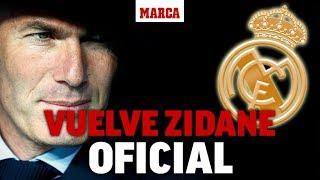 Vuelve Zidane Al Real Madrid: Firma Hasta 2022