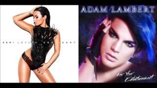 For Your Confidence || Adam Lambert ft. Demi Lovato Mashup