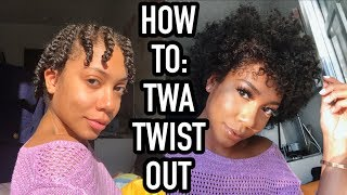 "<center><p>Twist Out on Short Natural Hair</p></center>"" />             </div>   </div>   <div class="