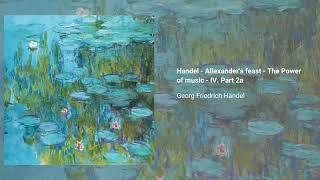 Alexander's Feast, HWV 75