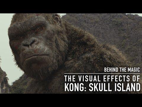 Así se hicieron los efectos especiales de 'Kong: Skull Island'