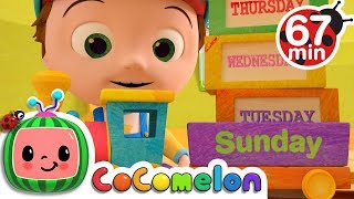 Days of the Week | +More Nursery Rhymes & Kids Songs - Cocomelon (ABCkidTV)