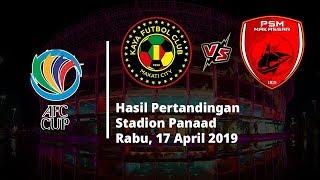 Hasil Piala AFC, Bertandang ke Markas Kaya FC, PSM Makassar Berhasil Curi Poin
