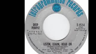Deep Purple 🤷♀️ Listen, Learn, Read On 1968