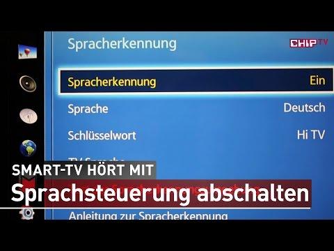 Samsung Smart-TV - Sprachsteuerung ausschalten - Anleitung deutsch   CHIP