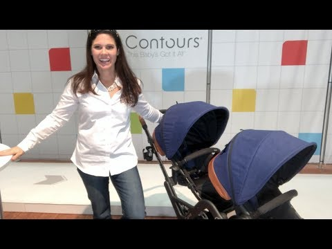 Contours Curve Double Stroller Sneak Peek by Baby Gizmo