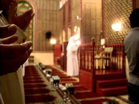 دعاء القنوت مع الشيخ احمد بن علي العجمي من صلاة التراويح 15 رمضان 1431