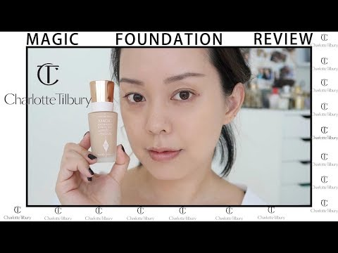 Charlotte Tilbury Magic Foundation First Impression Review | SEREIN WU