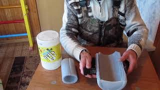 Изготовление наколенники для зимней рыбалки своими руками