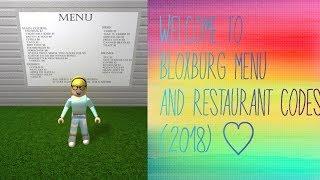 roblox bloxburg cafe menu picture ids - Kênh video giải trí