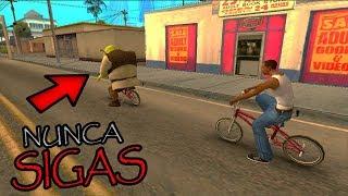 Nunca Sigas a SHREK en el GTA San Andreas o lo Lamentaras!!