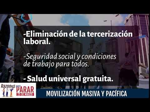 Razones para Parar, por derechos sociales
