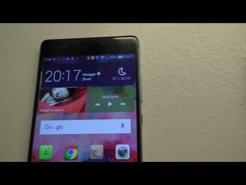 Huawei p9 salvataggio schermata