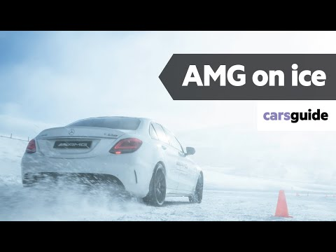 Mercedes-AMG 2020 review: GLA45, C63 S, E63 S, GT C, G63 | RWD vs AWD on ice