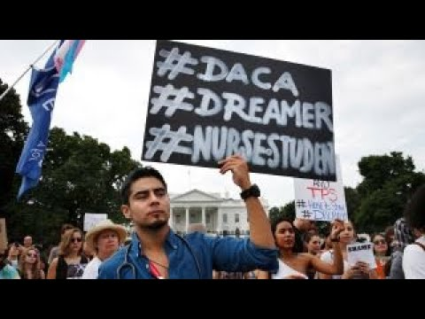 Trump makes DACA deal contingent on border wall financing