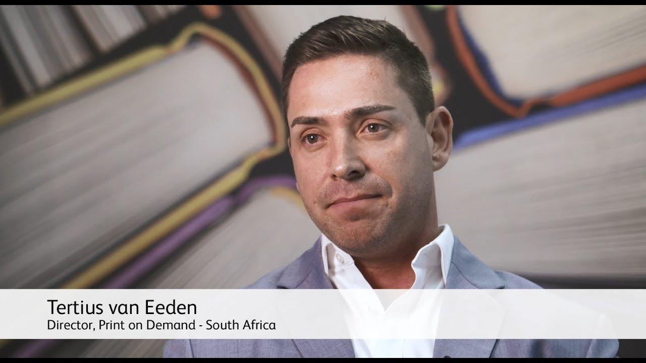 Xerox Book Printers Point of View: Tertius van Eeden - Print on Demand (South Africa) YouTube Video
