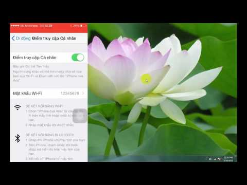 Cách phát wifi bằng iPhone 4 5 5s 6 6 Plus cực kì mạnh