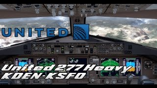 Always Pay Attention to the Runway! | United 277 | KDEN - KSFO