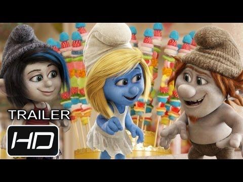 Trailer Los pitufos 2