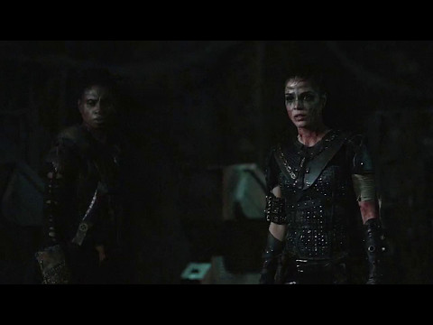 Bellamy and Octavia | HD Scene from episode 4x11 (The 100)