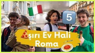AŞIRI EV HALİ ROMA'DA !!! #5 🏡    ANNEME BÜYÜK SÜRPRİZ!