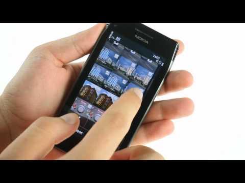 Nokia X7-00 UI demo