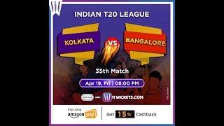 KKR vs RCB | Fantasy Cricket | 11Wickets