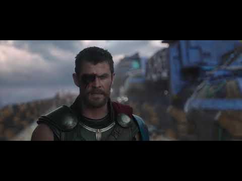 Thor and Valkyrie vs Hela - Thor Ragnarok