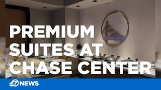 This is what premium suites in Warriors' Chase Center will look like