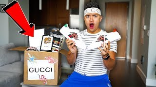GUCCI MYSTERY BOX FROM CHINESE MARKET UNBOXING!!