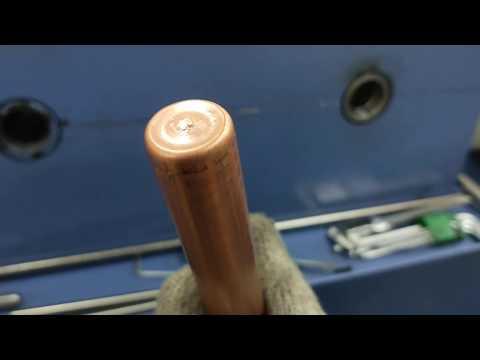 TD-21025,HEAT EXCHANGER EXTRUDED,Closing Machine,Tube Closing Machine,Tube End Closing Machine,Pipe End Closing Machine,Tube closing machine,end closing machine