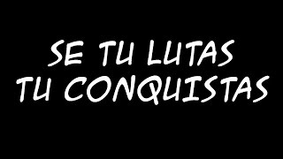 SNJ - Se Tu Lutas Tu Conquistas - Letra - High Quality Mp3