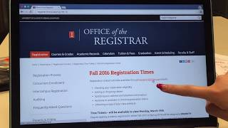 How to register courses