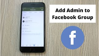 How to Add Admin on Facebook Group Mobile (2021)