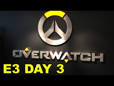 E3 Day 2/3 Vlog! Visiting Overwatch HQ! OSVR, Forge TV, Battlefront and more!