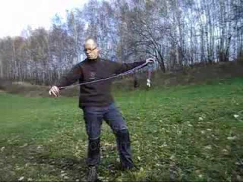 Bolas - pt 1 Throwing technique (Boleadoras)