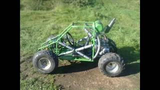 KIDS OFF ROAD BUGGY MADE FROM SCRATCH