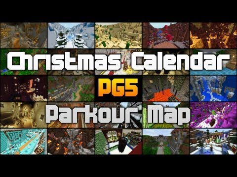 Parkour Map v1.1 - Christmas Calendar - minecraftpg5 Minecraft Project
