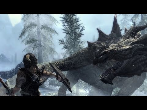 Elder Scrolls V: Skyrim Debut Gameplay Trailer Revealed