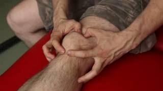 Массаж коленного сустава. Тейпирование коленного сустава.