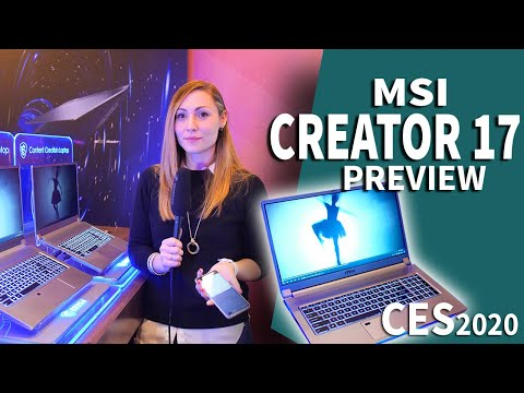 External Review Video JSSrS-rluS0 for MSI Creator 17 A10S Laptop (10th-gen Intel) 2020