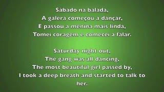 Ai Se Eu Te Pego - Michel Teló (Lyrics Portuguese And English) (HD)